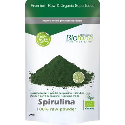 Biotona Spirulina poeder 200 gram