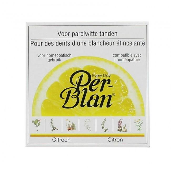 Per Blan Tandpoeder Citroen 30 gram