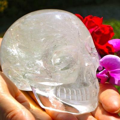 Bergkristallen Schedel 767 gr (BL2)