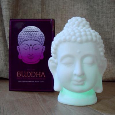 Boeddha met LED lichtje