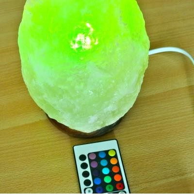 Hymalaya zoutlamp kleurentherapie + remote