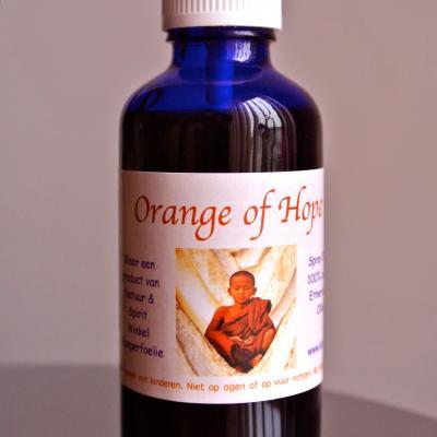 'Orange of Hope' Kamperfoelie natuurparfum 50 ml