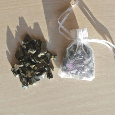 Edel Shungite Watervitalisatie Organza zakje 25 gram