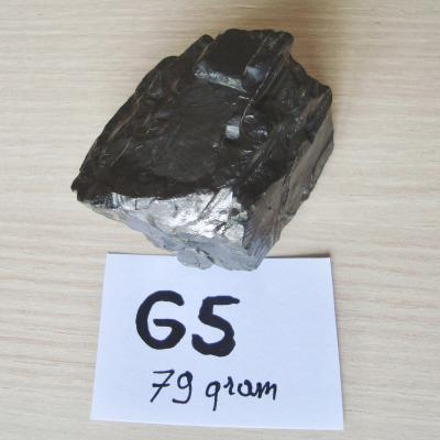 Edel Shungite B Kwal - Gepolijst G5 - 79 gram