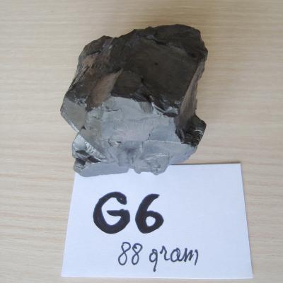Edel Shungite B Kwal - Gepolijst G6 - 88 gram