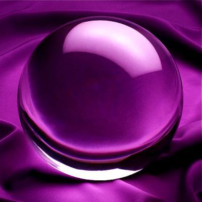Kristallen Jongleer Bol 10 cm