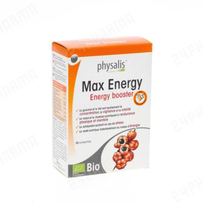 Max Energy Physalis 30 tabletten