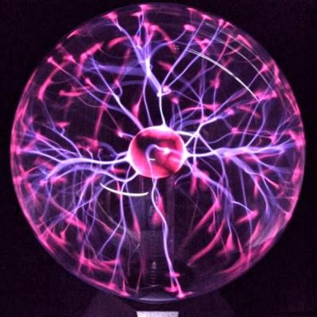 Plasma bol met MP3 en Schumann generator