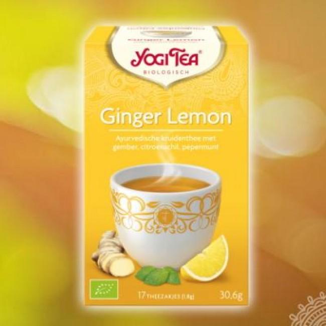 Yogi thee Ginger Lemon
