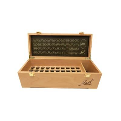 Lege houten kist voor Bachbloesemremedies 20 ml