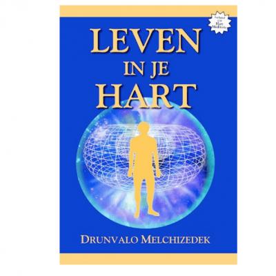 """Boek """"Leven in je Hart""""  + CD - Drunvalo Melchizedek"""