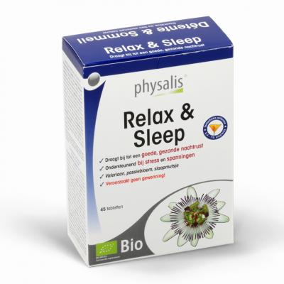 Relax & Sleep Bio Physalis 45 tabletten